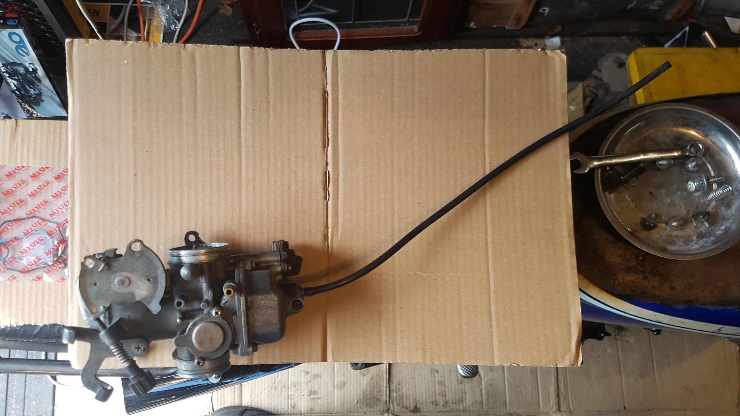 Scarlet's Carburetor Revisited – CB250RS/Keihin PD70